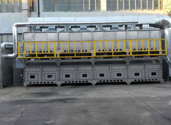 脉冲除尘设备厂家案例