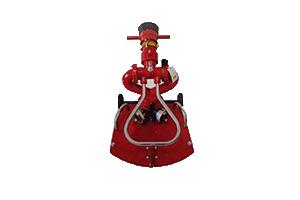 5吋电动消防炮