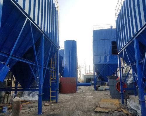 催化燃烧设备工程案例
